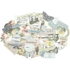 Romantique Collectables Scrapbooking 50 pc Die Cuts KAISERCRAFT CT894 New