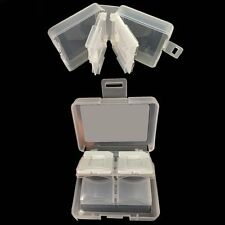 Kodak PlaySport Zx3 Camcorder Memory Card Clear Plastic Case - Fits 8 SD Cards