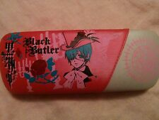 Kuroshitsuji Black Butler Ciel Phantomhive glasses case pink w/box