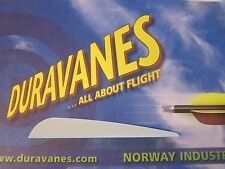 """NEW Norway Duravanes 4"""" Grey 100 pack Arrow Archery LOTS More Listed"""