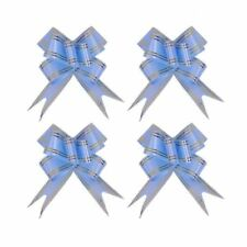 10x 18mm Glitter Butterfly Pull Bows Shiny Premium Quality