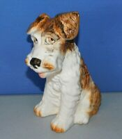 """VINTAGE SYLVAC PORCELAIN DOG, APPROX 8"""" TALL, MADE IN ENGLAND #1379"""