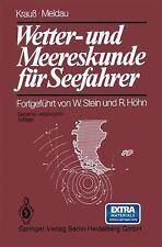 Wetter- und Meereskunde Für Seefahrer by Heinrich Meldau and Joseph Krauß...