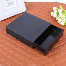 External Black Computer DVD CD Drive Bay Storage Drawer Tray Molding Kit Box OV