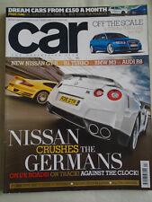 Car Apr 2008 Nissan GTR vs 911 Turbo vs M3 vs R8, RS6