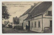 AK Schlesien, LANGEBIELAU, Gasthof zum Kronprinzen, gelaufen 28.1.42 (45459)