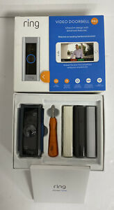 RING Video Smart Doorbell Pro With Plug-In Adapter Motion Detection *NEW*