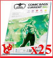 Pochettes Protection CURRENT BIG Size comics VO x 25 Marvel Ultimate # NEUF #