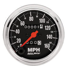 Autometer 2494 Traditional Chrome Speedometer gauge,  3-3/8 in., Mechanical