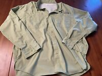 Columbia Sportswear PFG Mens Size Medium Button Up Fishing Long Sleeve Shirt