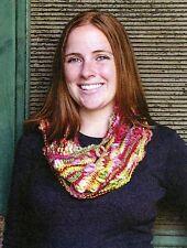 Universal Yarn Knitting Pattern - Persephone Handpaints Cowl - Easy Knit