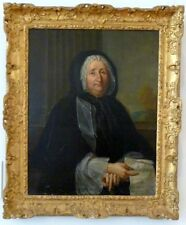 """perfect 24x36 oil painting handpainted on canvas""""an old lady""""@N6591"""