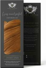 """Foxy Locks Clip In Human Remy Wrap Ponytail - Cinnamon Ginger #30 - 12""""-26"""""""