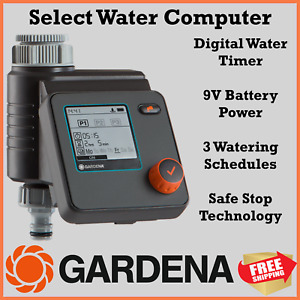 Gardena Select Electronic Tap Timer Water Computer 1891-20 Made in Germany