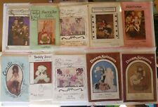 PRIMITIVE SEWING  PATTERNS lot of 39  CLOTH DOLLS ANGELS, DOLLS, BUNNIES  etc