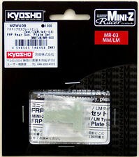 Kyosho Mini Z MZW409 FRP Rear Sus. Plate Set (MM /LM /MR-03)