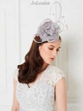 Jacques Vert Fascinator Neutral Grey Soft Flower Wedding Church Races