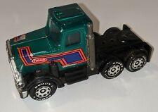 1980 Buddy L Peterbilt Green Semi Truck Made In Japan Vintage