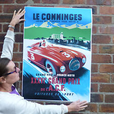 Voiture poster motorsport course automobile poster-A1 le comminges grand prix