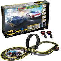 Micro Scalextric G1155 Batman vs Joker Battery Operated 1/64 Slot Car Set