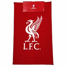 LIVERPOOL FC Rouge Tapis de sol Carpette LOGO FOOTBALL 100% OFFICIEL NEUF