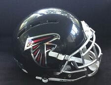 ATLANTA FALCONS JULIO JONES CUSTOM CHROME FULL SIZE AUTHENTIC FOOTBALL HELMET