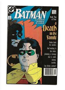 Batman #427 (1988) A Death in the Family VF- 7.5