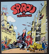 Spirou et l'aventure Jijé Ed. Dessinateur de notre temps 1975 Comme neuf