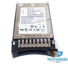 """IBM 42D0637 42D0638 42D0639 300 GB 10K RPM 2.5"""" SAS Hard Drive"""