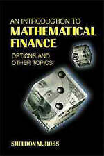 An Introduction to Mathematical Finance: Options and Other Topics by Ross, Shel