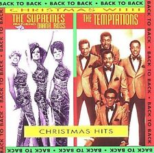 Christmas Hits Back to Back by The Supremes/The Temptations Soul Diana Ross CD