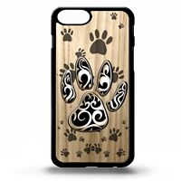 Paw print puppy dog symbol pattern pet cute paws graphic art phone case cover