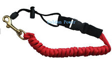 3FT Adjustable Kayak Safety Rod Leash Fishing Rod/Paddle Leash RED 1 PC