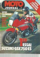 MOTO JOURNAL N°591 750 SUZUKI GSX ES / DOSSIER KIT XT / FOURCHES AVANT (2)