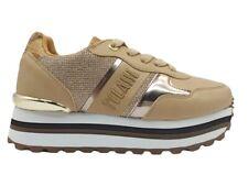 Scarpe donna Alviero Martini 1 Classe 1006 sneakers casual platform basse beige