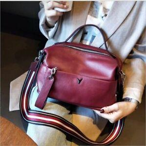 Luxury Design Genuine Leather Cross-body Handbag For Women Casual Messenger Bag