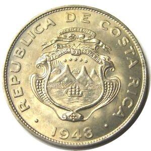 elf Costa Rica 25 Centimos 1948