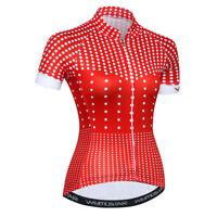Women's Cycling Jersey Clothing Bicycle Sportswear Short Sleeve Bike Shirt  F14