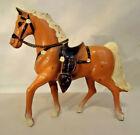 VINTAGE DIE CAST METAL PALOMINO HORSE ROY ROGERS TRIGGER? MADE IN JAPAN