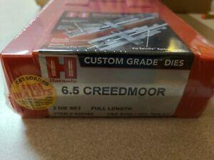 Hornady 546289 6.5 Creedmoor Full Length Two Die Set reloading die 6.5 cm