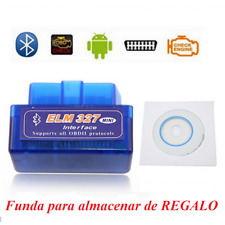 Lector Scaner ELM 327, diagnosis sin cables ODB2,  Bluetooth Android Samsung etc