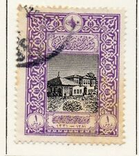 Turkey 1916 Early Issue Fine Used 1p. 056084