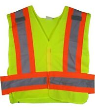ANSI 207-2006 Public Service Safety Vests in Lime - Size 3X-4X