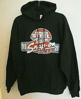 SNAP-ON Logo Mens L Pullover Hoodie Graphic Sweatshirt Black Forged Steel NEW