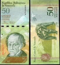 VENEZUELA 50 BOLIVARES 2008 Nuovo di zecca UNC P92b