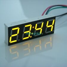 "0.40"" Digital LED Clock Watch Time for 12V 24V  Car Motorcycle bicycle E-bike Y"
