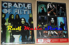 CALENDARIO CRADLE OF FILTH 2004 SIGILLATO no cd dvd lp mc tour live