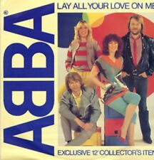 Abba Lay All Your Love On Me , On And On And On Uk 12""