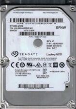 ST500LM012 HN-M500MBB/M2 F/W: 2BA30001 Seagate 500GB