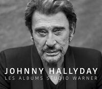 JOHNNY HALLYDAY - LES ALBUMS STUDIO WARNER 6 CD MULTIPACK 6 CD NEU